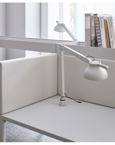 HAY - PC double arm w. Table Insert / desk lamp - Skandynawskie Lampki Biurkowe