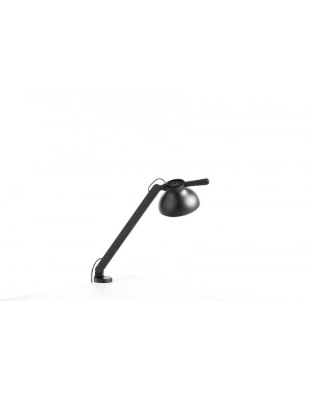 PC single arm w. clamp / desk lamp