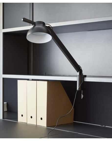 HAY - PC single arm w. clamp / desk lamp - Skandynawskie Lampki Biurkowe