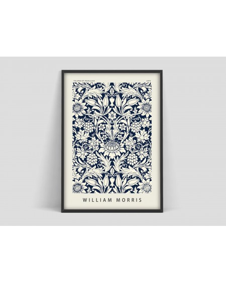 Various selection - Plakat Flower pattern II William Morris - Plakaty Skandynawskie