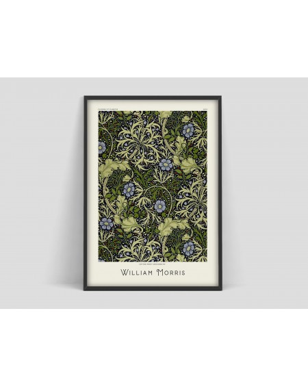 Various selection - Plakat Flower pattern III William Morris - Plakaty Skandynawskie