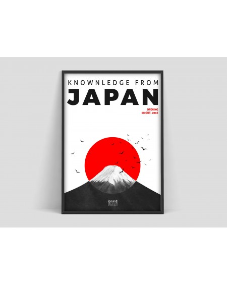 Plakat Knownledge from Japan