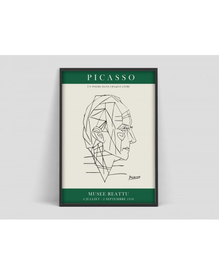 Various selection - Plakat Pablo Picasso, Musee Reattu - Plakaty Skandynawskie