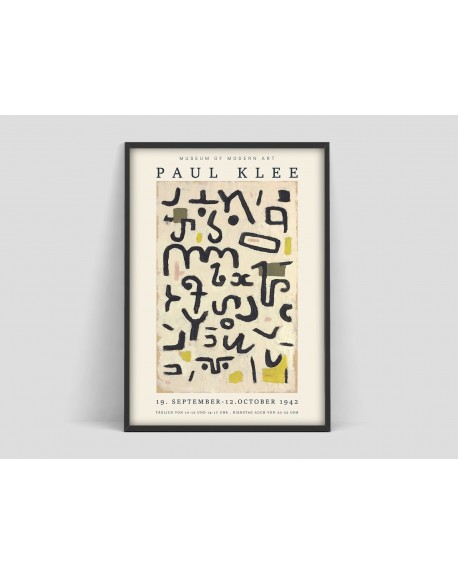 Various selection - Plakat Paul Klee, Exhibition Museum of Modern Art - Plakaty Skandynawskie