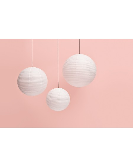 HAY - Rice paper shade / Ø60 Classic White - Lampy
