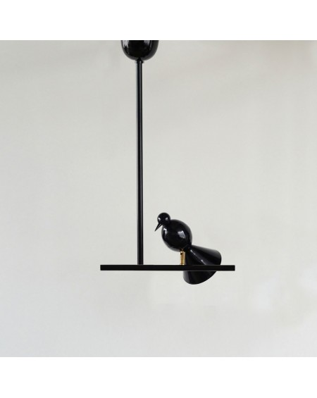 Alouette - ceiling light / T version / 1 bird