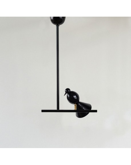 Atelier Areti - Alouette - ceiling light / T version / 1 bird - Skandynawskie Lampy Sufitowe