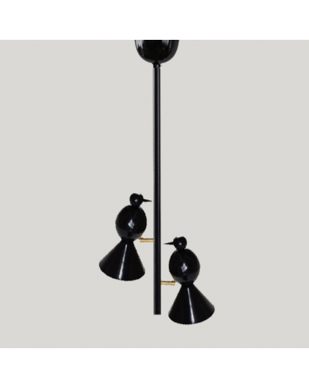 Atelier Areti - Alouette - ceiling light / I version / 2 birds - Skandynawskie Lampy Sufitowe