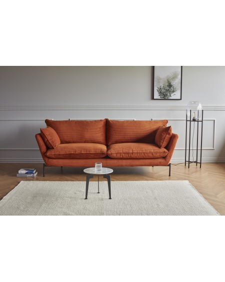 Hasle Lux Corduroy 595 Burnt Orange