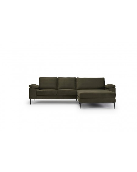 Nabbe 2 seater sofa witch chaiselong / Cushion arms