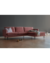 Kragelund - Nabbe 2 seater sofa witch chaiselong / Square arms - Sofy Skandynawskie