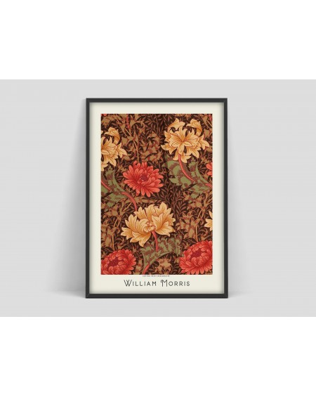 Various selection - Plakat Flower pattern VI William Morris - Plakaty Skandynawskie
