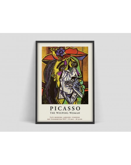 Various selection - Plakat Picasso The Weeping Woman - Plakaty Skandynawskie