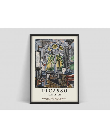 Various selection - Plakat Picasso L' Atelier - Plakaty Skandynawskie