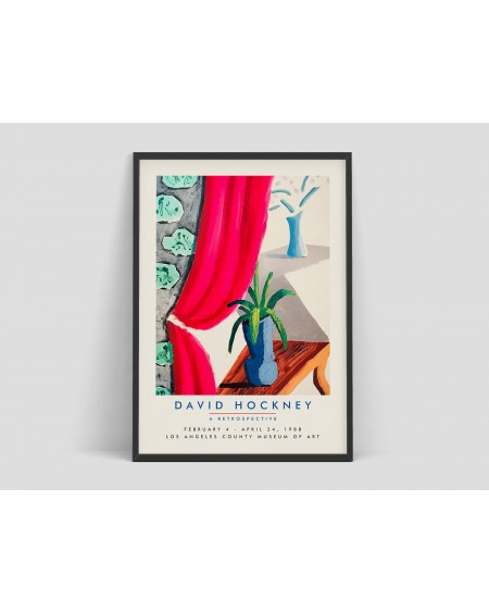 Various selection - Plakat David Hockney, A retrospective - Plakaty Skandynawskie