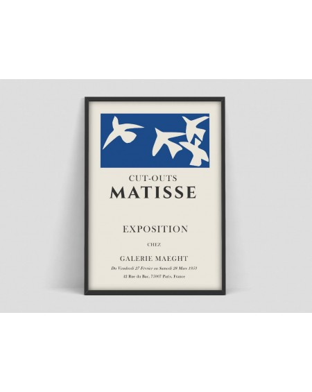 Various selection - Plakat Cut-outs Matisse Exposition - Plakaty Skandynawskie