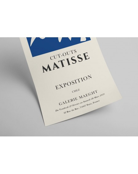 Plakat Cut-outs Matisse Exposition