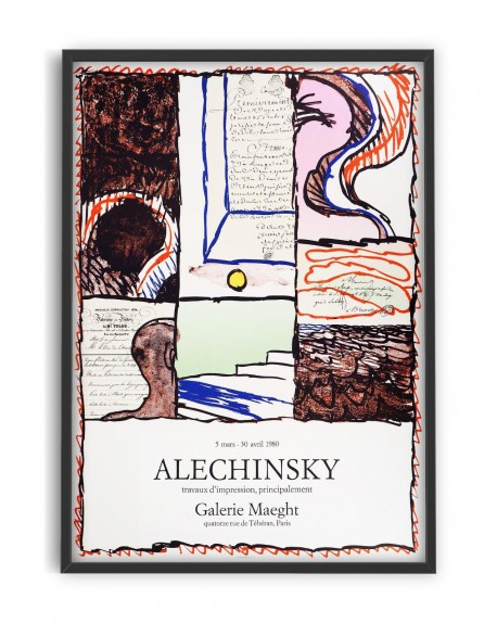 Various selection - Plakat Alechinsky Galerie Maeght - Plakaty Skandynawskie