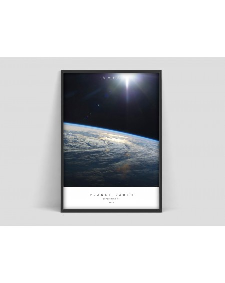 Empty Wall - Plakat Nasa, Planet Earth (I) - Plakaty Skandynawskie