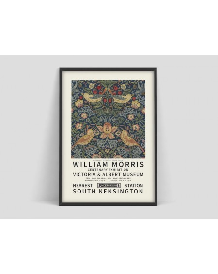 Various selection - Plakat do wystawy, William Morris - Plakaty Skandynawskie