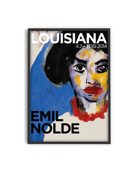 Various selection - Plakat Emil Nolde, Louisiana A3 - Plakaty Skandynawskie