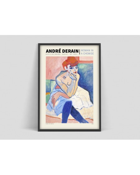 "Various selection - Plakat Andre Derain ""Woman in a chemise"" - Plakaty Skandynawskie"