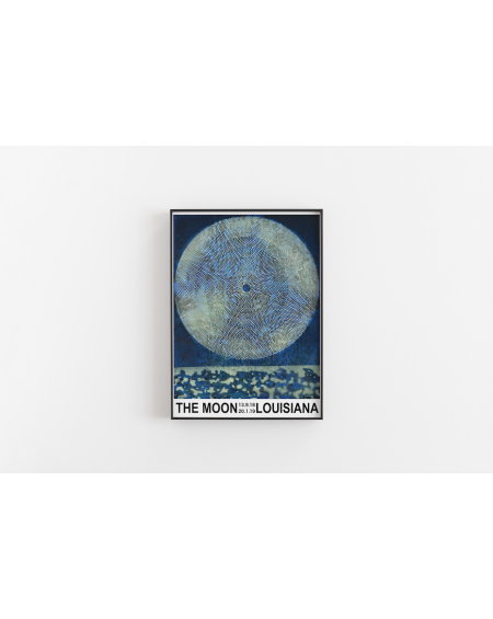 Various selection - Plakat The Moon Louisiana - Plakaty Skandynawskie