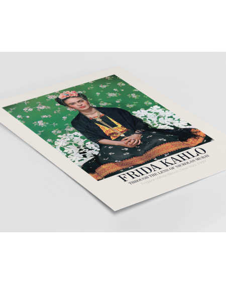 Plakat Frida Kahlo, Through the lens of Nicolas Muray