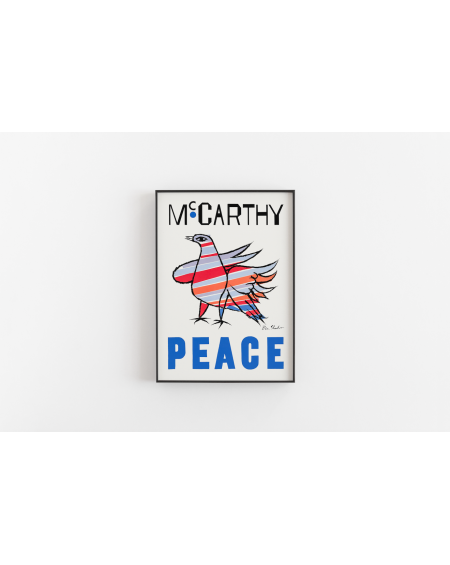 Plakat Mc Carthy Peace
