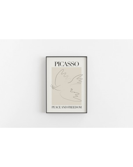 Various selection - Plakat Picasso, Peace and freedom - Plakaty Skandynawskie