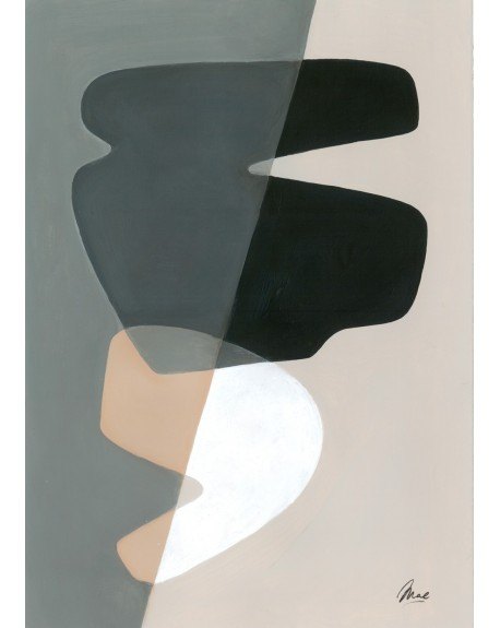 Paper Collective - Composition 02 By Mae Studio, 50 x 70 cm - Plakaty Skandynawskie