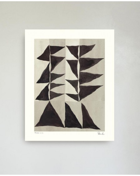 Hein Studio - Triangle no. 02 by Rebecca Hein, 40 x 50 cm - Plakaty Skandynawskie
