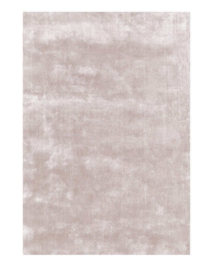 SOLID Dusty Pink Viscose Rug
