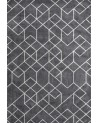 Layered - OUTLINES Elephant Gray Viscose Rug - Skandynawskie Dywany