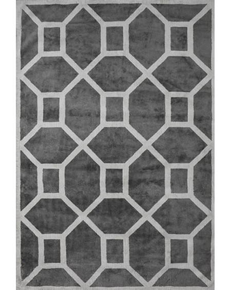 Layered - Entrance Elephant Gray Viscose Rug