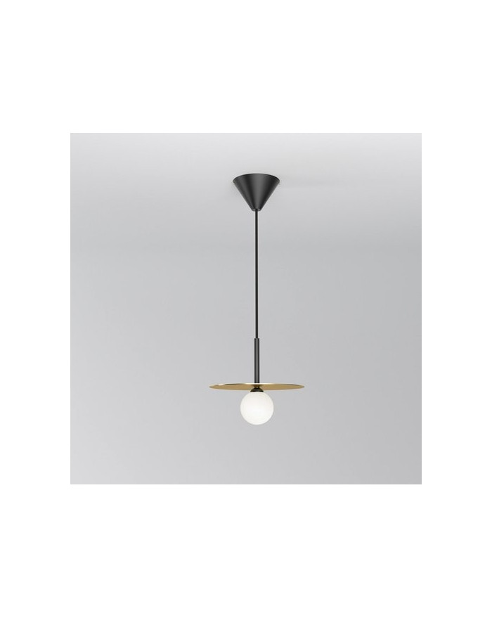 Disc and Sphere pendant lamp