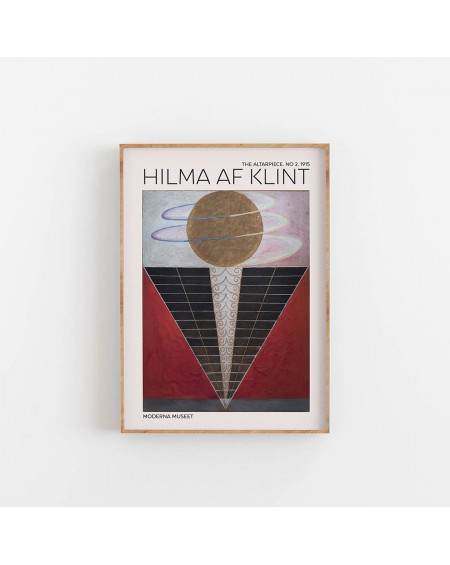 Various selection - Hilma Af Klint- The Altarpiece NO. 2 - Plakaty Skandynawskie