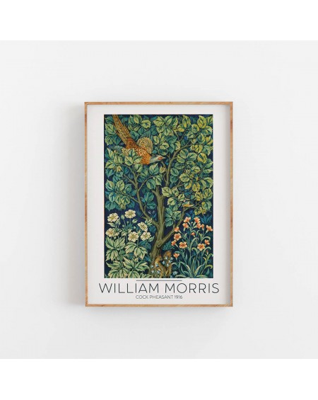 Various selection - William Morris- Cock Pheasant 1916 - Plakaty Skandynawskie