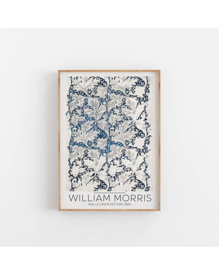 Various selection - William Morris- Wallflower Pattern 1890 - Plakaty Skandynawskie