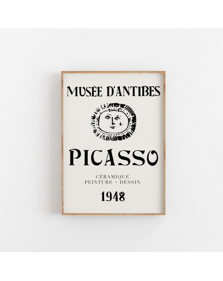 Various selection - Plakat do wystawy Picasso w Musee D'antibes, 1948 - Plakaty Skandynawskie
