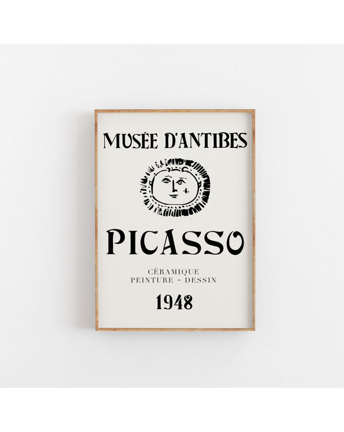 Plakat Picasso - Musee D'antibes, 1948