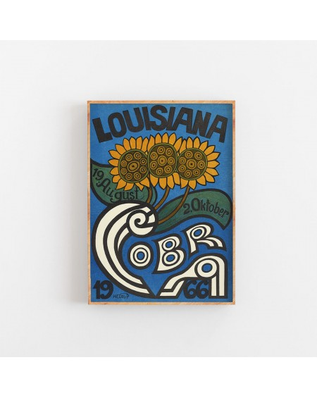 Various selection - Plakat Louisiana Sunflowers 1966 - Akcesoria