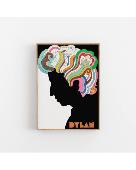 Various selection - Plakat Bob Dylan Colour - Plakaty Skandynawskie