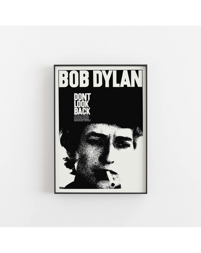 "Plakat Bob Dylan ""Dont look back"""