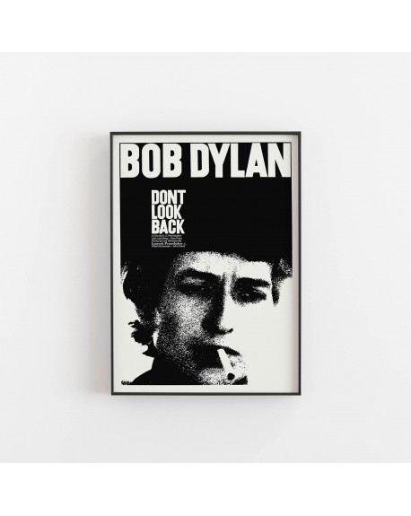 Empty Wall - Plakat Bob Dylan, Dont look back - Plakaty Skandynawskie