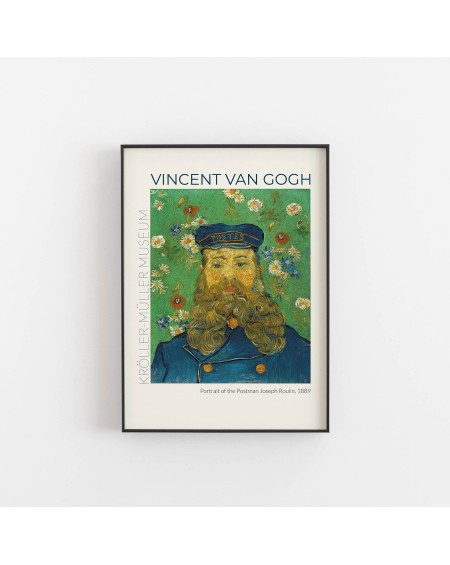 Various selection - Plakat Vincent Van Gogh, Portrait of the Postman Joseph Roulin, 1889 - Plakaty Skandynawskie