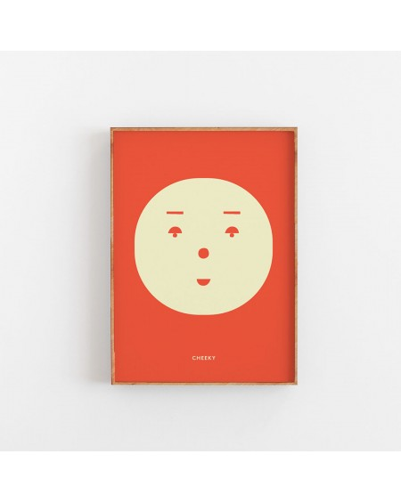 Paper Collective - CHEEKY poster - Dodatki