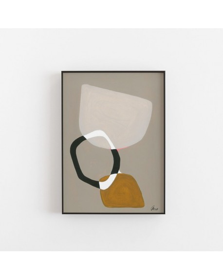 Paper Collective - Plakat Composition 03 By Mae Studio, 50 x 70 cm - Plakaty Skandynawskie