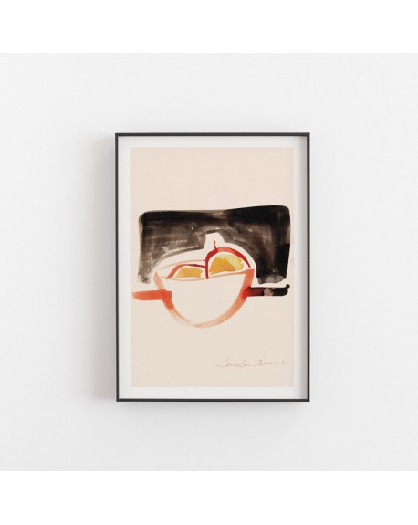 Paper Collective - Plakat The Bowl By Loulou Avenue - Plakaty Skandynawskie