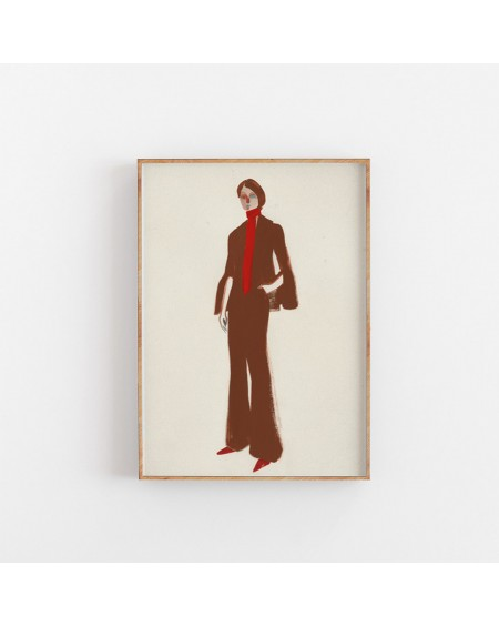 Paper Collective - Plakat The Suit - Plakaty Skandynawskie